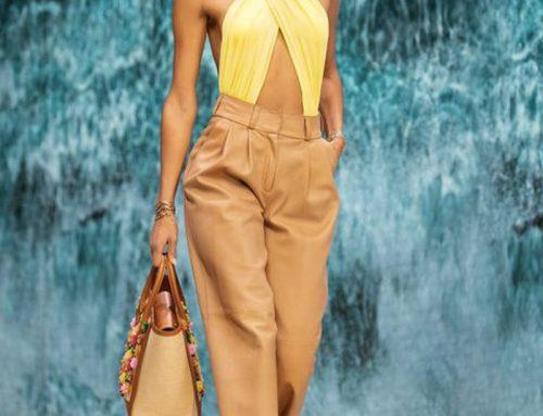 Pantaloni di lino dell'estate: leggerezza e versatilità