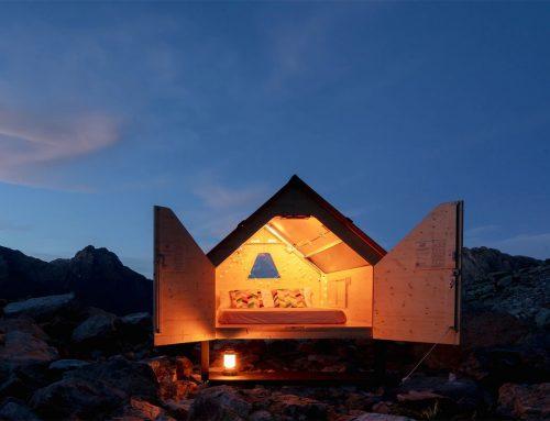 Casette di legno Starsbox, il cielo in una stanza