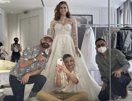 I tre abiti sposa di Miriam Leone: una favola firmata Dior