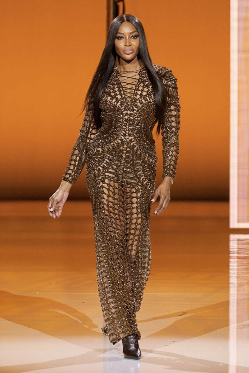 sfilata balmain paris fashion week ss 2022 Life&People Magazine LifeandPeople.it