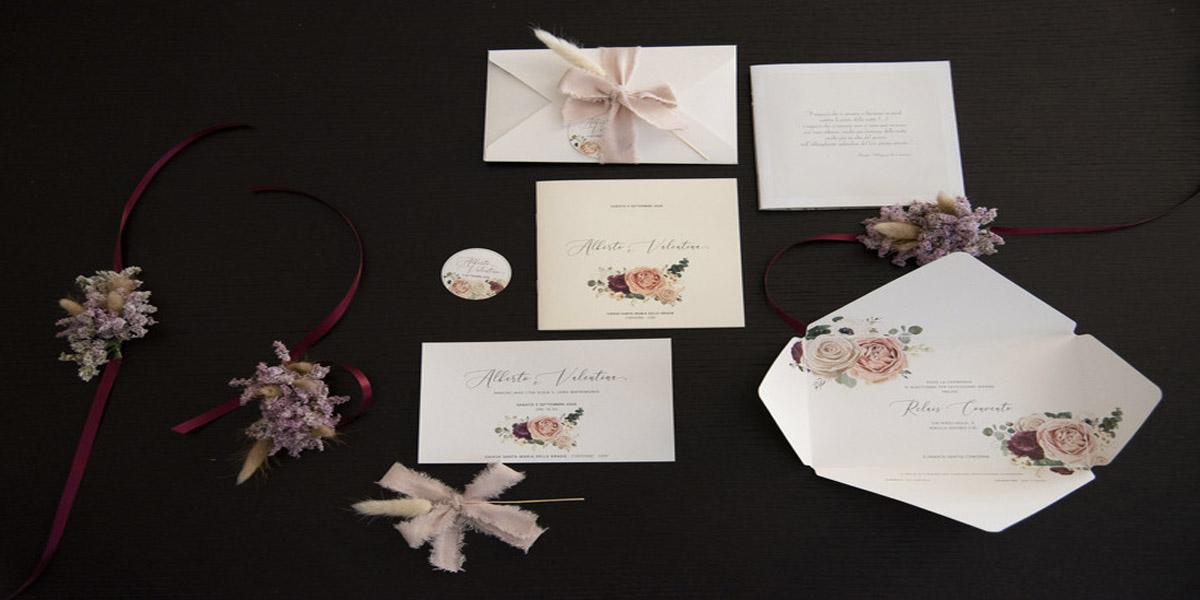 inviti nozze partecipazioni matrimonio come fare   Life&People Magazine LifeandPeople.it