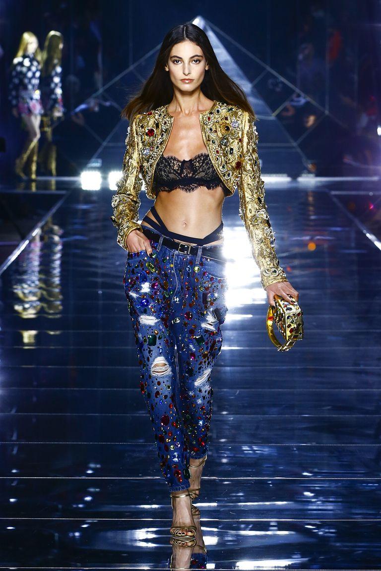 Sfilata Dolce Gabbana PE 2022 Life&People Magazine LifeandPeople.it