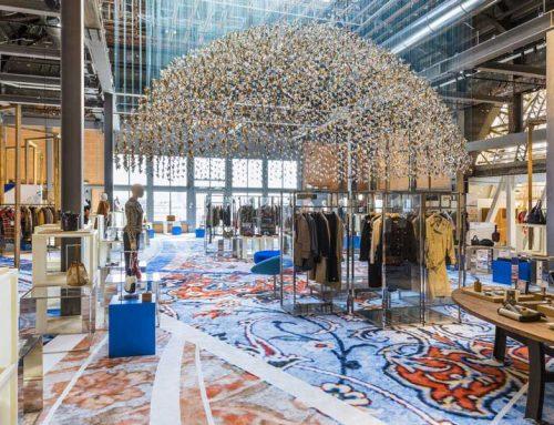 Printemps Haussmann: la rinascita della cupola dorata all'insegna della moda circolare