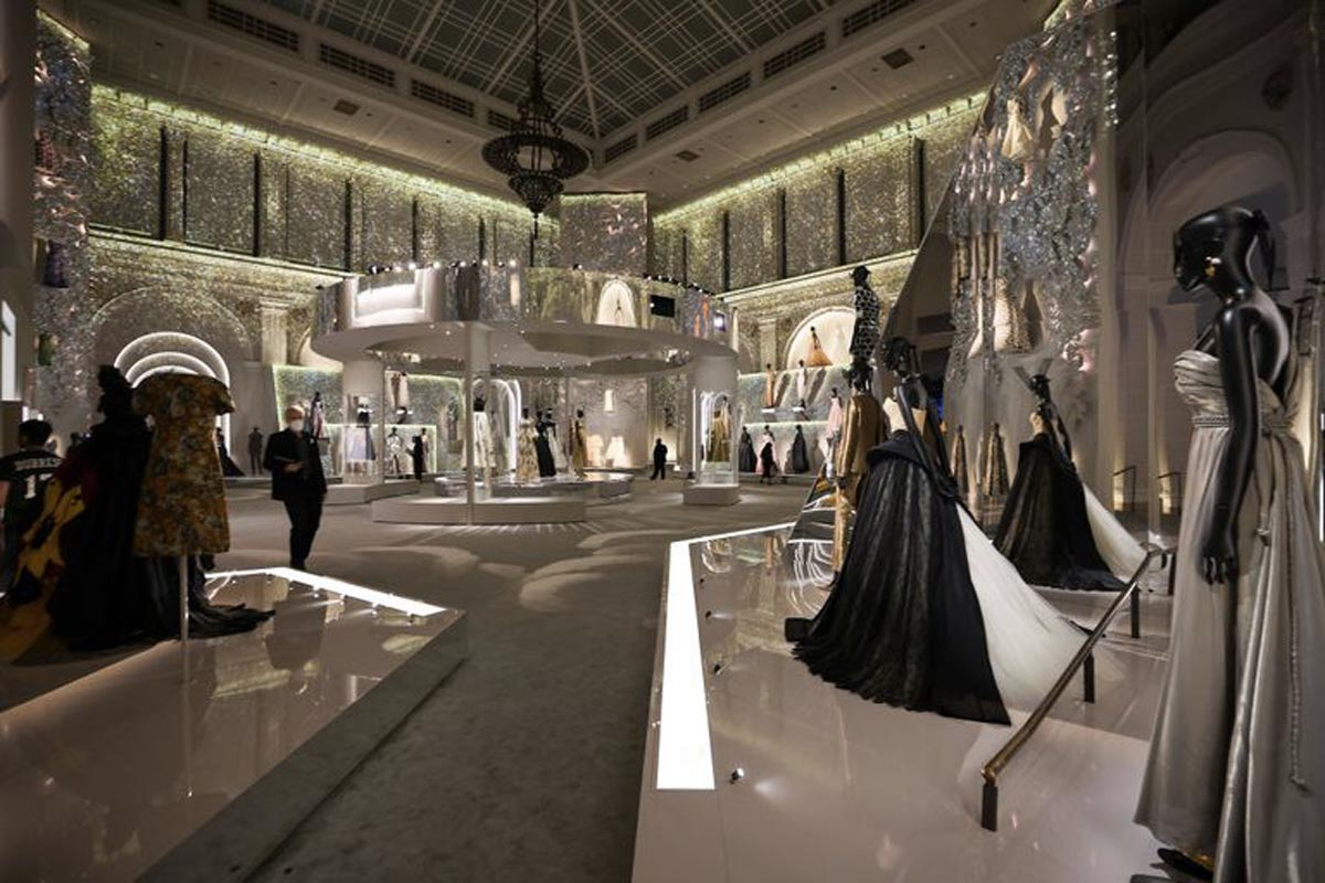 Christian Dior Designer of Dreams mostra Life&People Magazine LifeandPeople.it