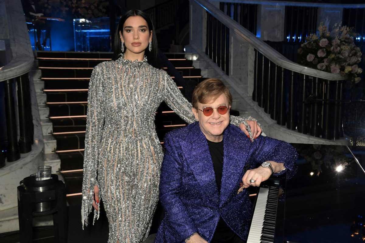 Elton John: un nuovo incredibile record del Baronetto grazie a Dua Lipa