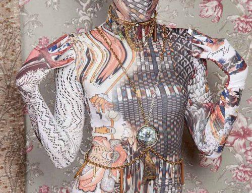 Volto mascherato in passerella: il trend dell'uomo digitalizzato