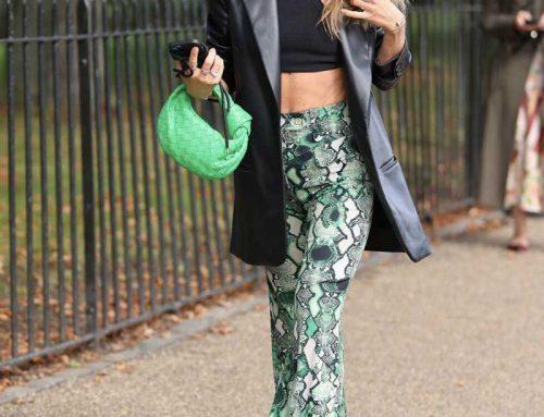 I look street style più di tendenza sfilano a Londra