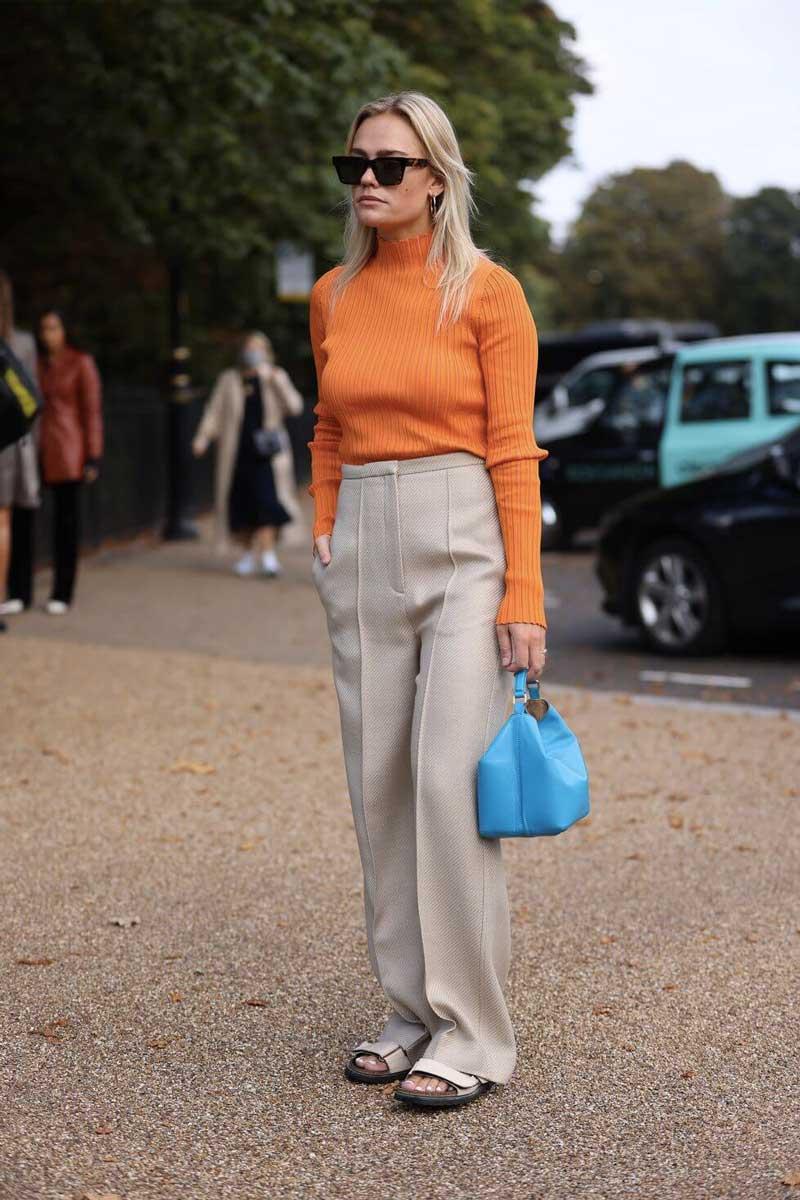 look street style Londra Life&People Magazine